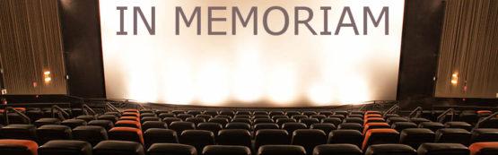 As perdas do cinema em 2016
