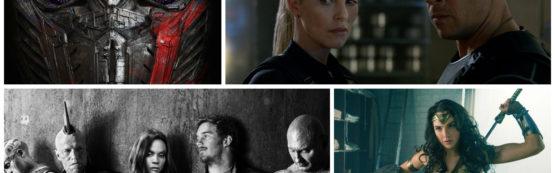 Grandes expectativas para o primeiro semestre de 2017 nos cinemas