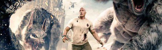 """""""Rampage – Destruição Total"""" com Dwayne Johnson lidera bilheterias nos Estados Unidos"""